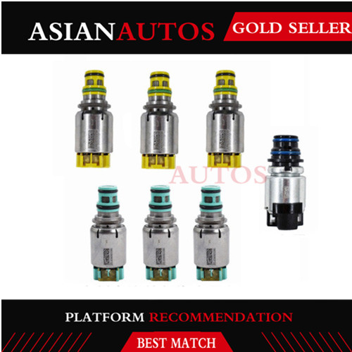 7pcs/1Set 6T40E 6T45E 6T40 Tested Original Transmission Shift Solenoid For Chevrolet Cruze Epica Lacetti Astra Antara Saab 9'4