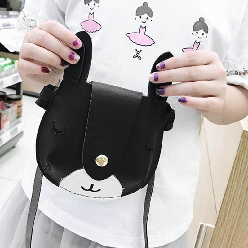 Детская сумка для девочки кролик Форма Повседневное сумка Детская сумочка из искусственной кожи сумка Детская сумка кошелек Z70