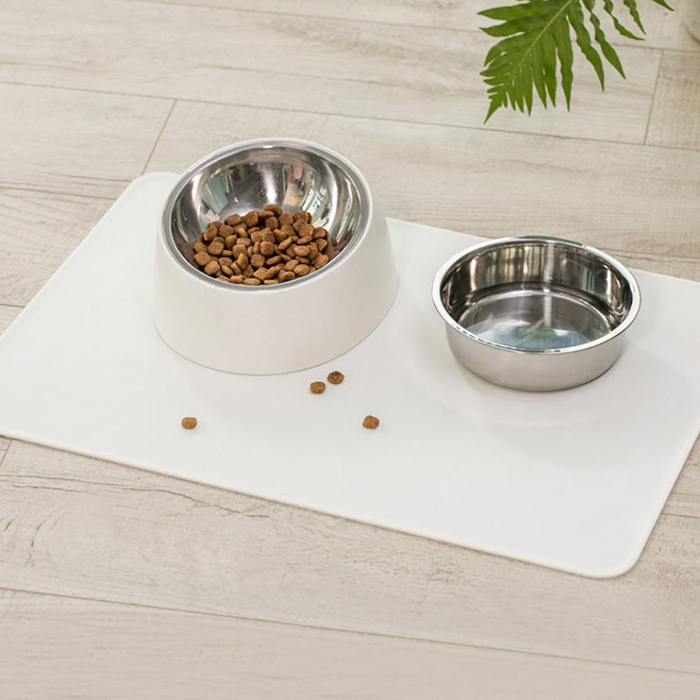 Radient Xiaomi Youpin Pet Dog Puppy Cat Waterproof Feeding Mat Pad Silicone Dish Bowl Food Wipe Clean Drinking Feed Placemat Lustrous Surface Home Appliance Parts