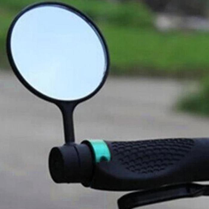 Flexible Bicycle Mirror Handlebar Rearview Round Shape Mountain Road Bike Outdoor Cycling Safty Bike MirrorFlexible Bicycle Mirror Handlebar Rearview Round Shape Mountain Road Bike Outdoor Cycling Safty Bike Mirror