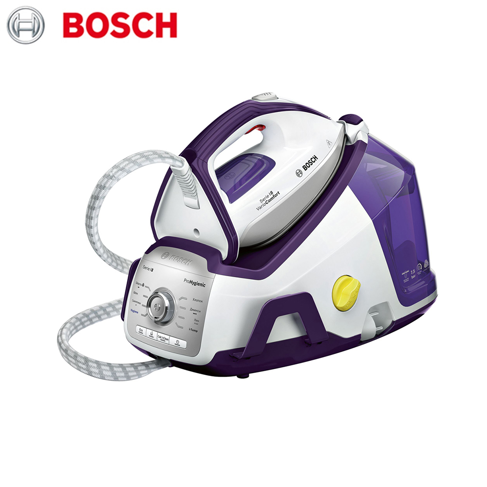 Electric Irons Bosch TDS8080RU household appliances laundry steam station iron ironing clothes hand soldering iron stand helping clamp magnifying tool auxiliary clip magnifier station holder