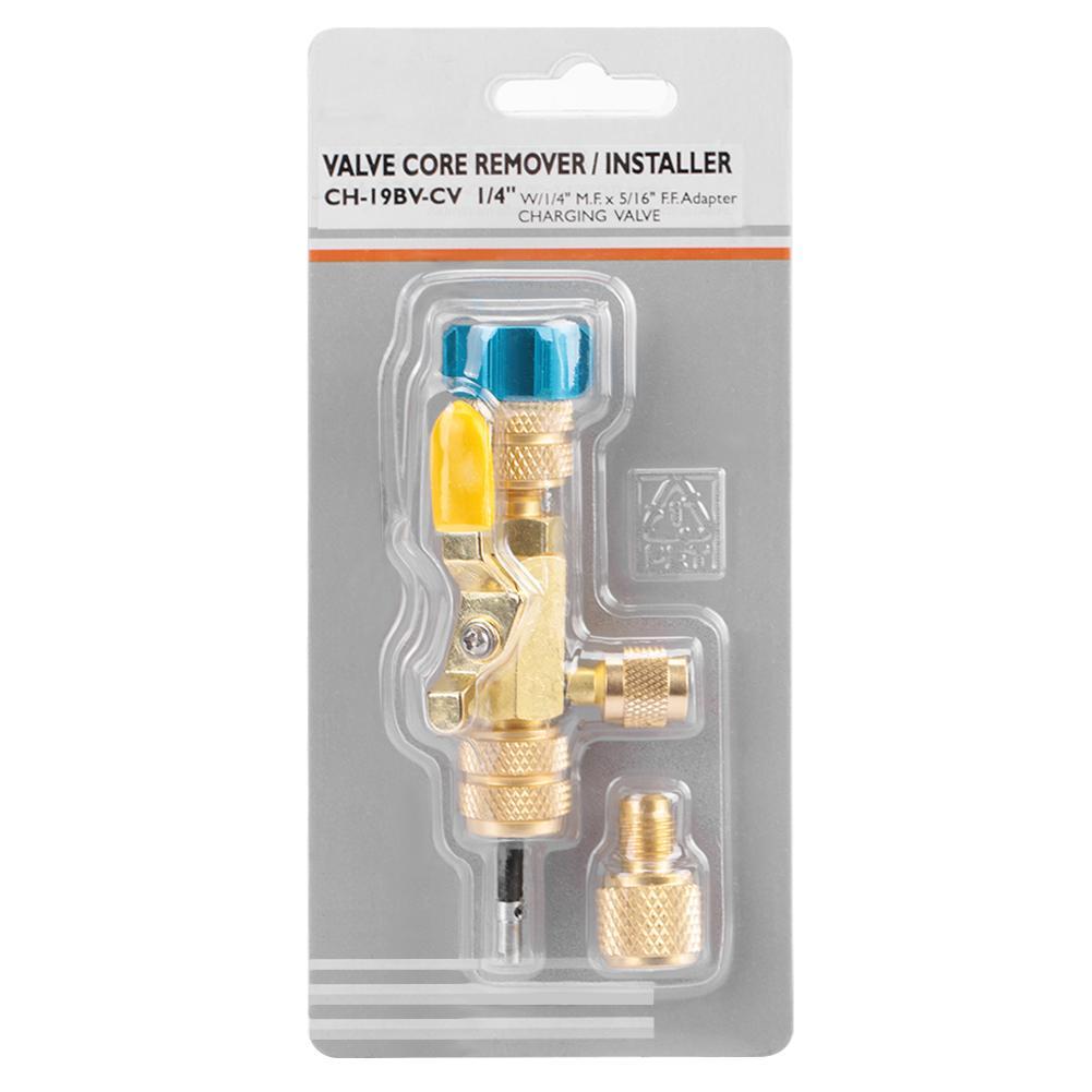 Port Installer Tool Großhandel R410 5/16 Ventil Core Remover Dual Größe R22 1/4