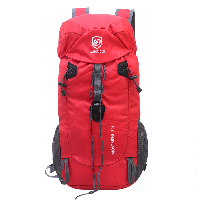 Impermeabile Red Tempo black All'aperto Grande Libero Nylon Alpinismo Capacità In Per Borsa Il Da orange blue Di rose red green Viaggio Purple S7wnIU