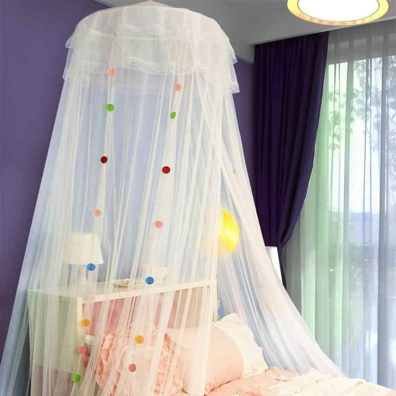 Para Girl Room Decor Dossel Bed Sweet Fang Mosquitera Cama Hanging Ciel De Lit Klamboe Canopy Moustiquaire Mosquito Net