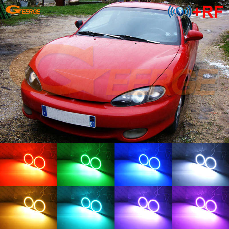 For Hyundai Tiburon Coupe RD1 J2 F2 1996 1999 Excellent RF Bluetooth Controller Multi Color Ultra