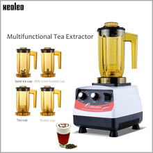 XEOLEO Tea brewing machine Bubble tea 1200ml Multifuction Food blender 1200W Shaking Smoothie maker brew cream