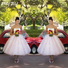 d784f21fad Buy polka dot wedding gown and get free shipping on AliExpress.com