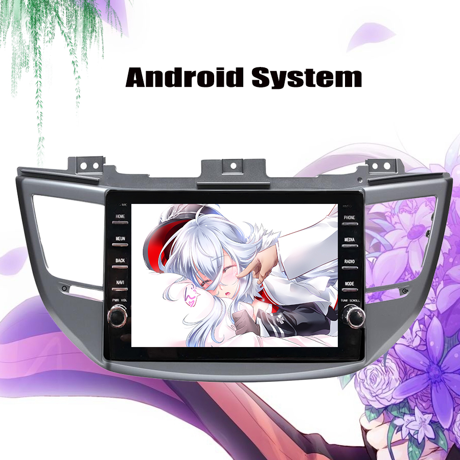 2 DIN 4 64GB Android 9 0 Car DVD gps for Hyundai Tucson 2016 2017 2018