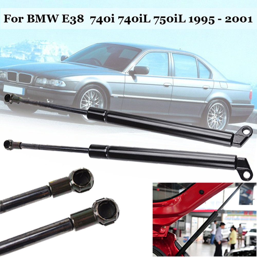 One Pair Rear Trunk Tailgate Lift Gas Strut For BMW E38 740i 740iL 750iL 1995-01One Pair Rear Trunk Tailgate Lift Gas Strut For BMW E38 740i 740iL 750iL 1995-01