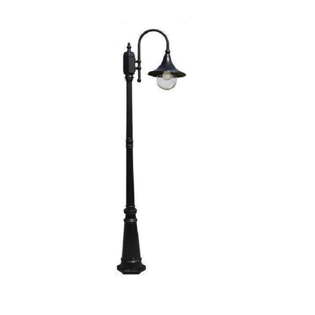 Lamba Tuinlamp Square Outdoor Lampioni Da Esterno Farola Straatverlichting Style Off Lampione Plaza Led Solar Street Road Light