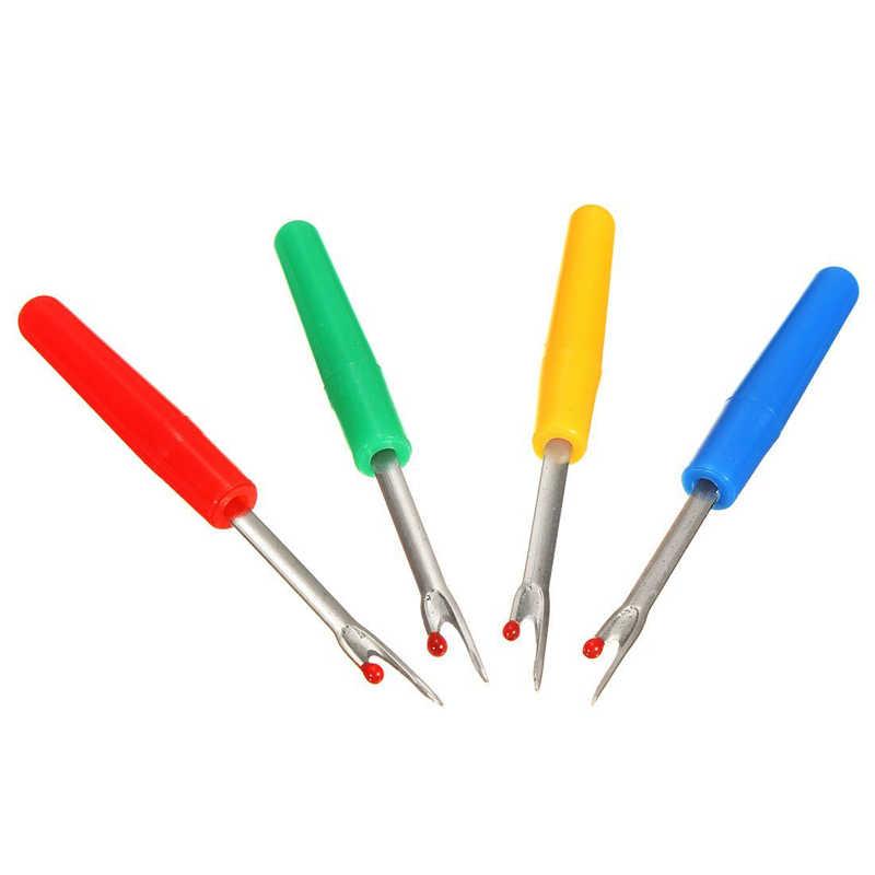 1 шт. пластиковая ручка заклепка игла откидывание хлопчатобумажной нити шитье инструмент