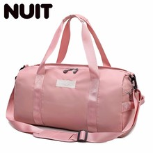 Women Travelling Bags Polyester Bag Light Travel Sports Portable Training Male Dry And Wet Separation Waterproof