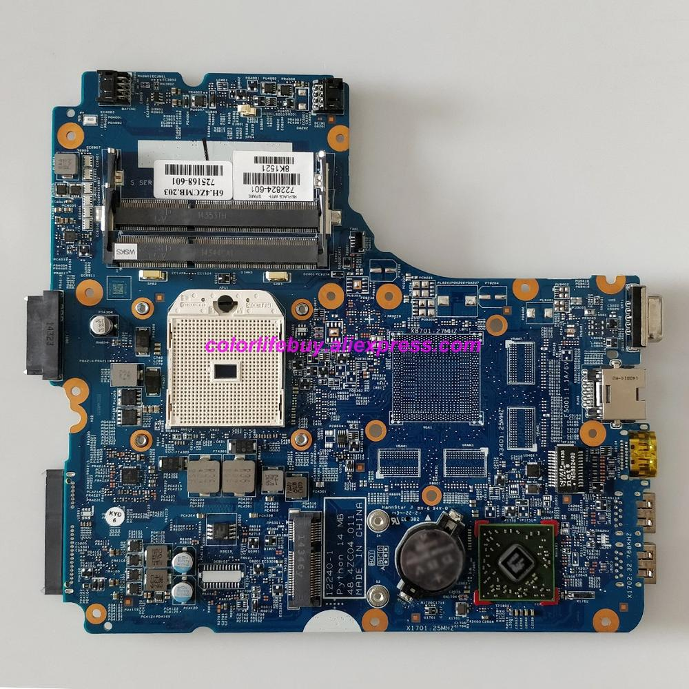Image 1 - Genuine 722824 001 722824 501 722824 601 12240 1 48.4ZC04.011 Laptop Motherboard for HP ProBook 445 G1 NoteBook PC-in Laptop Motherboard from Computer & Office