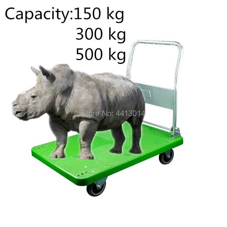 Industrial Plastic Heavy Duty Platform Trolley