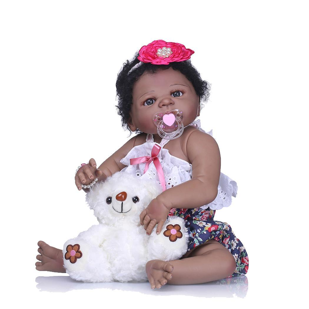 Kids Soft Silicone Realistic With Clothes Collectibles, Gift, Playmate Reborn Baby 2-4Years White DollKids Soft Silicone Realistic With Clothes Collectibles, Gift, Playmate Reborn Baby 2-4Years White Doll