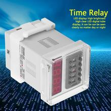 цена на 8 Pin Timer Time Relay For Timing Delay Control Digital LED Display Timer Time Relay DH48S-2Z 220V Brand New
