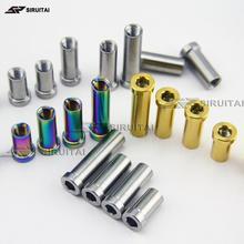 Титановый сплав скрытый тормоз для дорожного велосипеда Тормозная гайка 13mm15mm17mm23mm25mm33mm