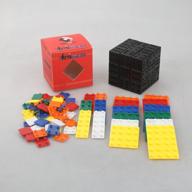 CubeTwist Bandaged DIY Kit Simplifized Edition// Standard Edition Cubo Magico Educational Toy