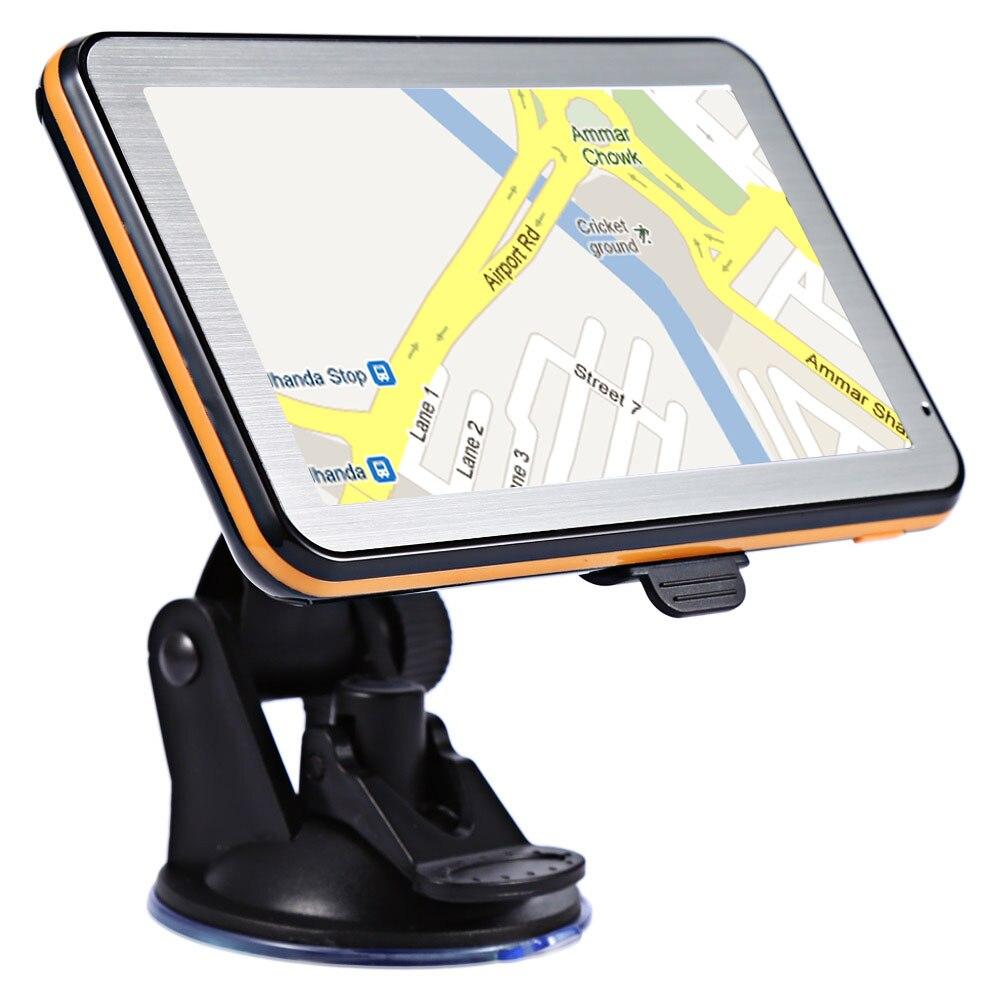 5 pollici 8 GB HD Navigazione di GPS Dell'automobile FM Bluetooth Navitel 2018 ultime Europa America Mappa Sat nav Camion gps navigatori automobile