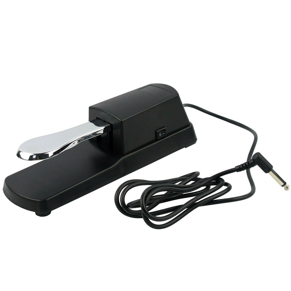 Universal Piano Sustain Foot Pedal Damper Pedal for Yamaha Piano Casio Electronic MIDI Keyboards Digital Electric Piano