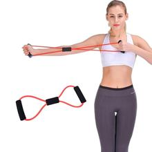 Yoga Pull Rope Resistance Training Muscle Elastic Band Tube Weight Control Fitness Gym Equipment