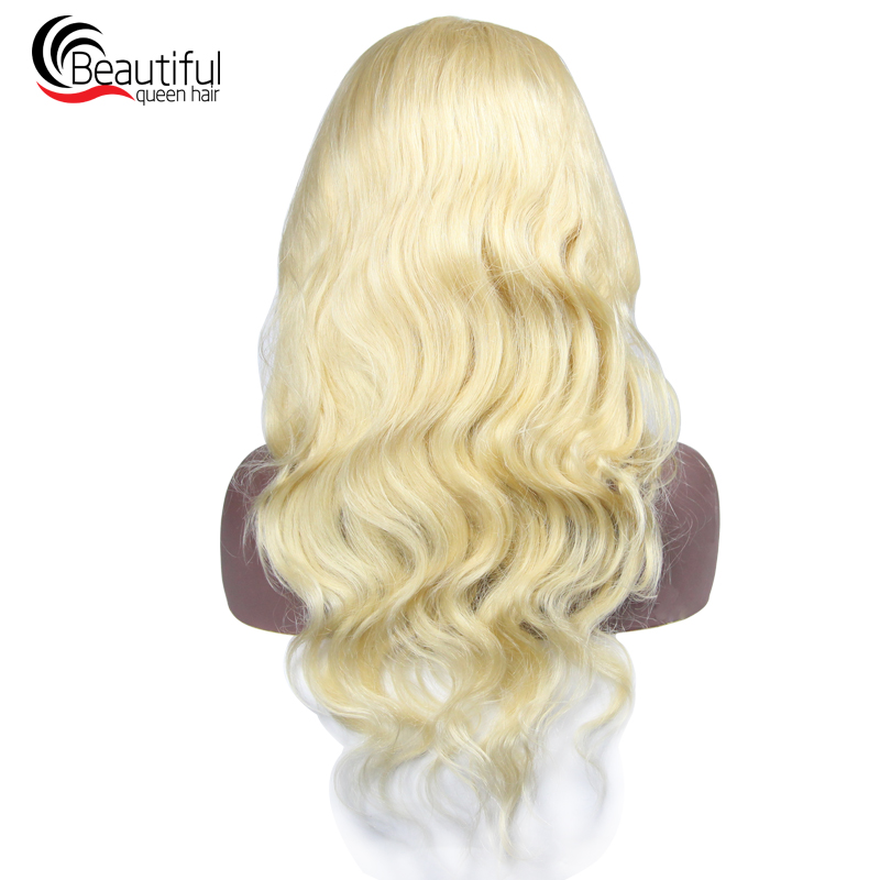 Systematic Brazilian 10a Lace Front Human Hair Wigs 130 Density 613 Blonde Body Wave Lace Front Wig Prepluncked Virgin Hair With Baby Hair Outstanding Features Lace Wigs