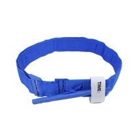Outdoor Hiking Portable First Aid Quick Slow Release Buckle Tactical One Hand Emergency Tourniquet Strap Blue