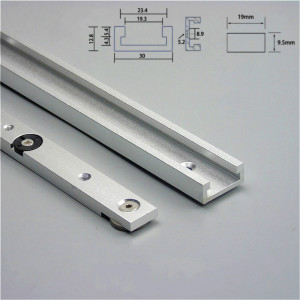 Aluminium Alloy T-tracks Slot