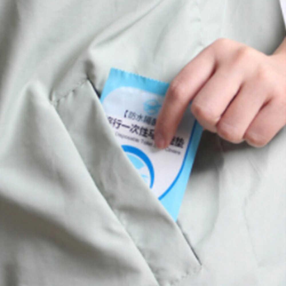 1/3/10 piezas de asiento de inodoro desechable estera portátil 100% impermeable seguridad Toilette asiento almohadilla para viaje cuarto de baño del Hotel suministros