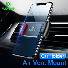 FLOVEME Car Universal Phone Holder For iPhone XS X 8 7 Plus Air Vent Mount GPS Navigation Stands Telefon Tutucu
