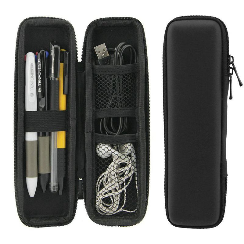 Portable Eva Hard Shell Pen Pencil Case Holder Pouch Stationery Box Makeup KW