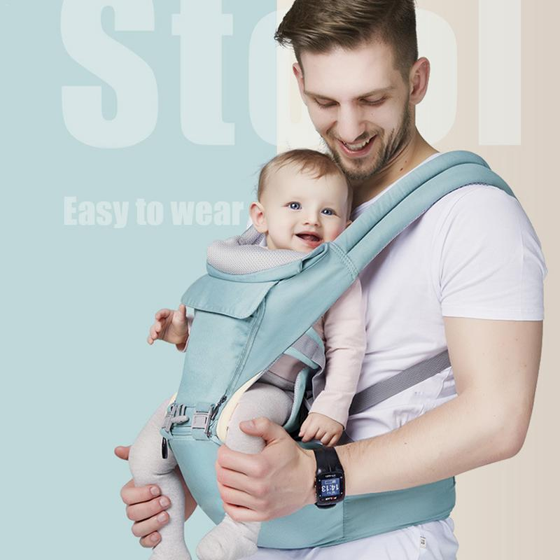 Baby Wrap Carrier With Towel Baby Sling Hold Waist Belt Backpack Hipseat Belt Kids Baby Carrier Waist Stool Walkers