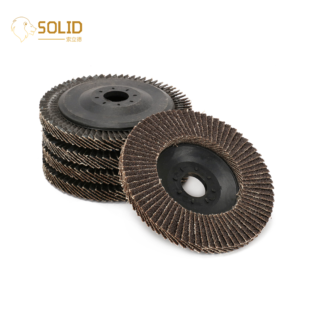 10Pcs 4 Inch 80~320# Flap Disc Grinding Wheels With 5/8