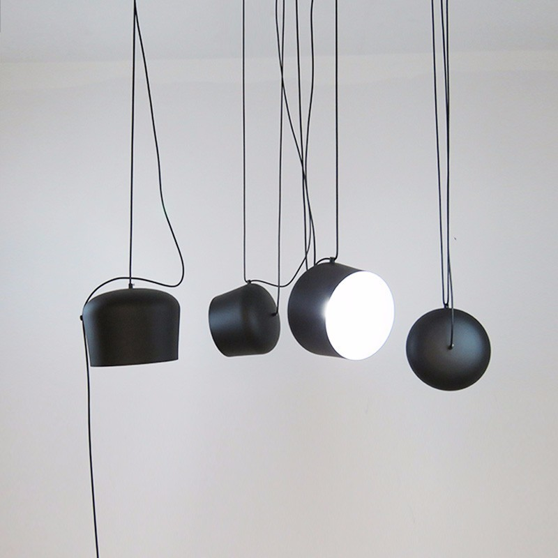 Lampes suspendues modernes pour salle à manger salon de la maison lampe suspendue noire Luminaire Restaurant café décor Suspension Luminaire