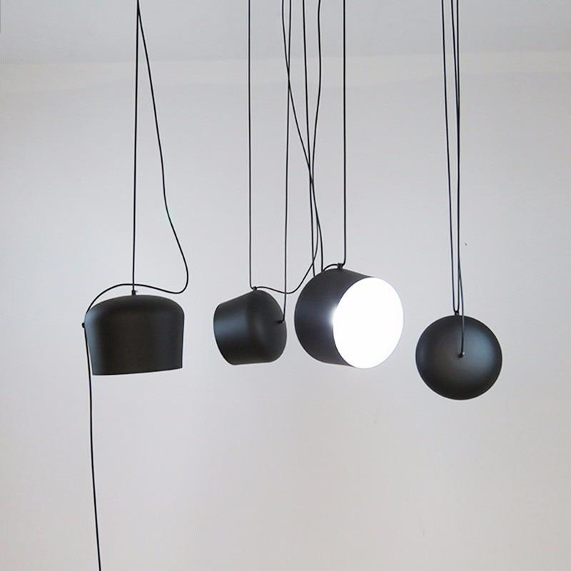 Modern Pendant Lights For Dining Room Home Living Black Hanging Lamp Fixture Restaurant Cafe Decor Suspension