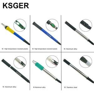 Image 5 - KSGER V2.1S di saldatura Elettrica T12 STM32 OLED Digital Stazione di Saldatura Temperatura Regolatore di Strumenti di Saldatura