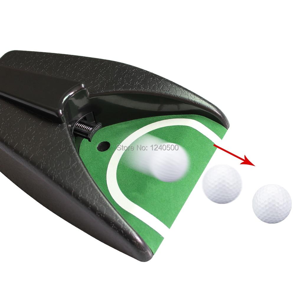 Golf Auto Return System Golf Ball Kick Back Automatic Return Putting Cup Device Golf Training Drop Ship