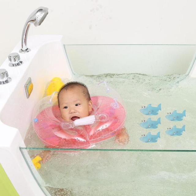 5 pezzo Antiscivolo Vasca da bagno Adesivi Bagno Zerbino Pavimento Doccia Grip 2 Modelli 40