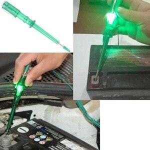 Image 4 - SPEEDWOW probador de circuito de luz de coche lámpara de voltaje DC 6V 12V 24V, pluma de prueba de cobre, sonda de Detector, lámpara de sonda de prueba de sistema de luz