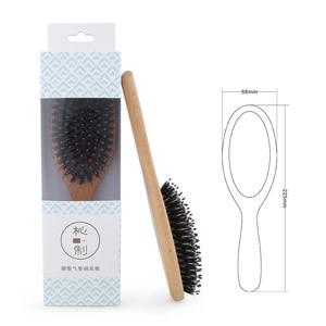 Image 2 - Bristle Brush Prevent Hair Loss Comb Mi Home Portable Care Beauty Anion Hair Care Scalp Massage Anti static Comb Tool