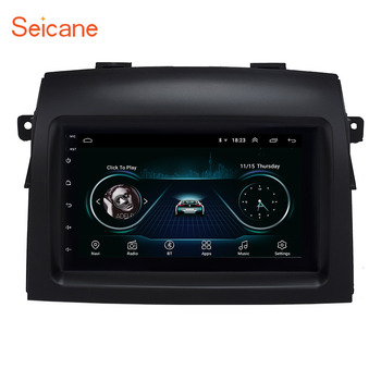 Seicane Android 8.1 Car Radio Multimedia Player For Toyota Sienna 2004 2005 2006 2007 2008 2009 2010 Stereo GPS Navigation 2din image