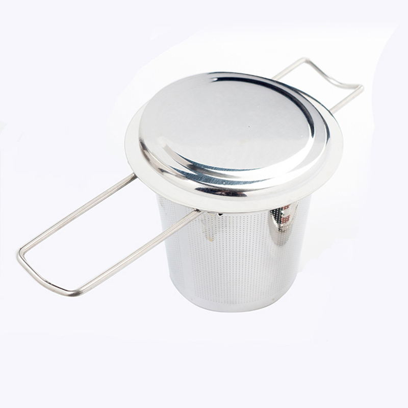 Mesh Tea Infuser Stainless Steel Filter Extra Fine Mesh Fits Standard Cups Mugs Teapots For Brewing Steeping Loose TeaMesh Tea Infuser Stainless Steel Filter Extra Fine Mesh Fits Standard Cups Mugs Teapots For Brewing Steeping Loose Tea
