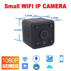 Image 2 - JIENUO 1080 P Mini WiFi Kamera Ip Kamera Batterie IpCam Cctv Wireless Security HD Überwachungs Micro Cam Nachtsicht Hause monitor