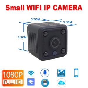 Image 2 - JIENUO 1080P mini kamera wi fi kamera Ip bateria IpCam Cctv bezprzewodowa ochrona HD nadzór mikro kamera noktowizor monitor domu
