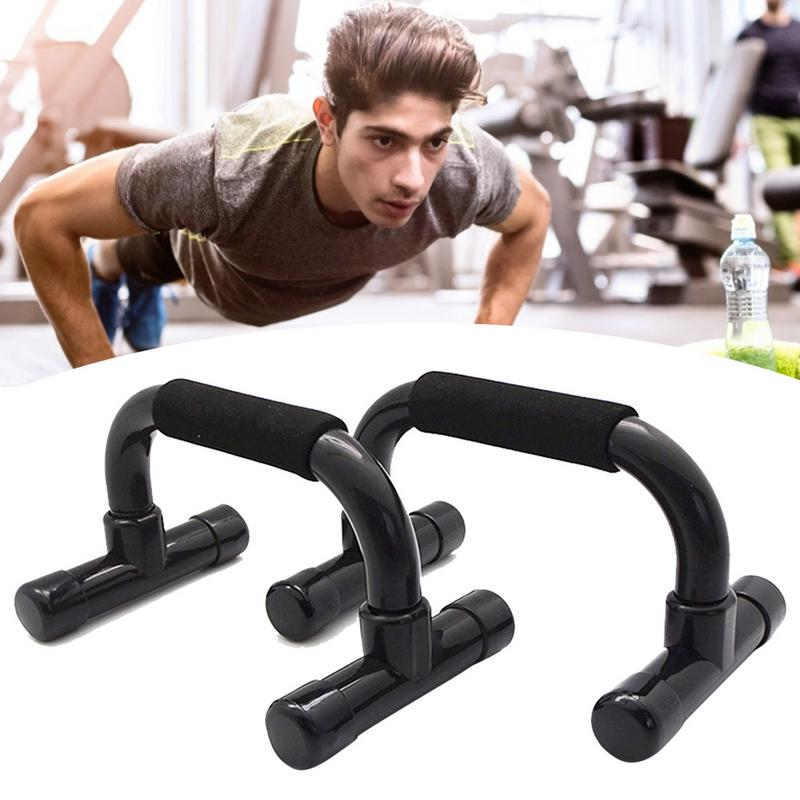 Pushup Bars Stands With Slip Resistant Comfort Foam Grip Providing The Best Safe Push Up Exercise For Home Gym Traveling Fitness