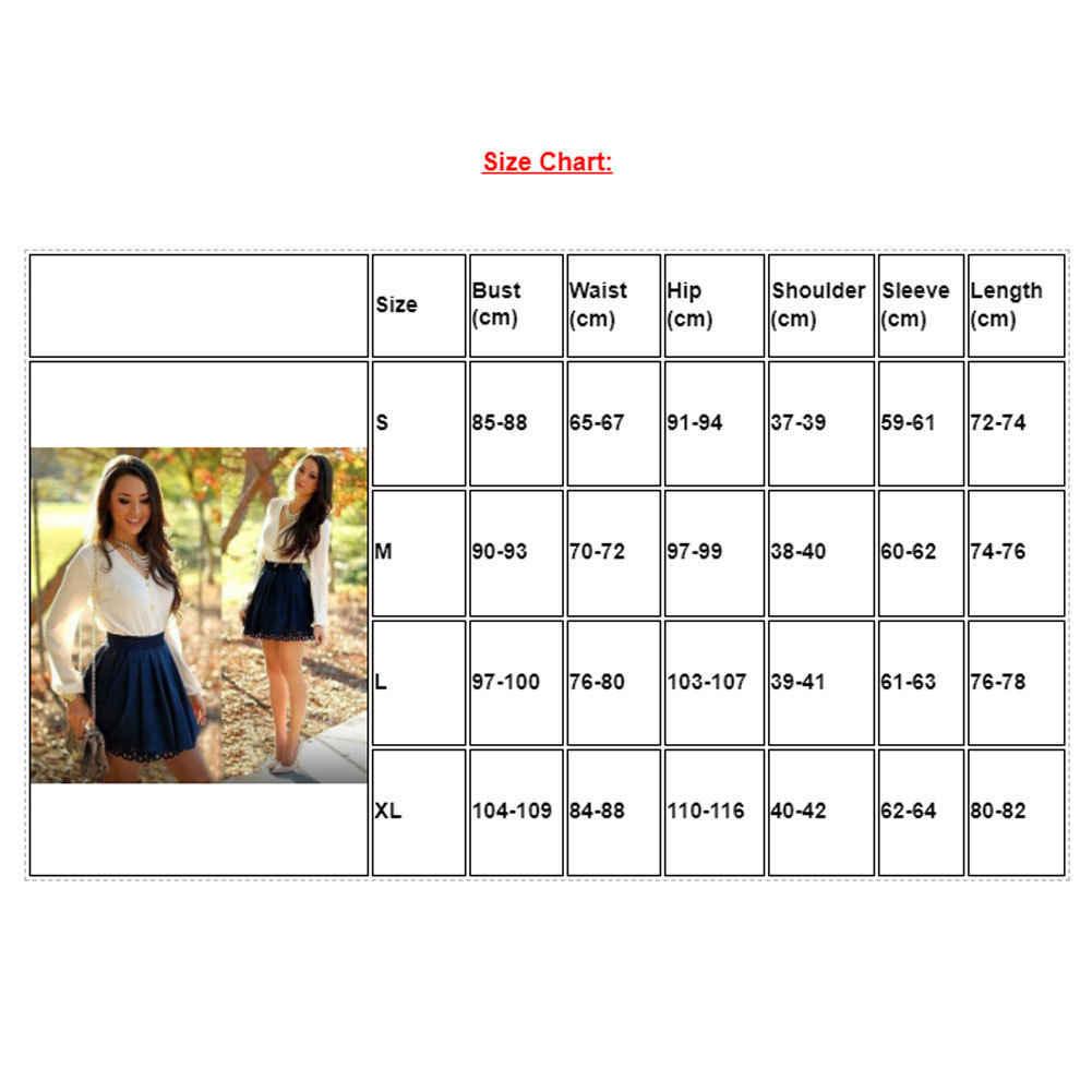 2019 Новинка; Лидер продаж; модные женские туфли свободного покроя, с длинным рукавом, с оборками пикантные вечерние коктейльное клубное мини-платье