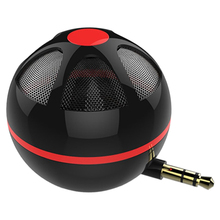 Portable Mini Bass Speaker Straight Plug Type Mobile Phone & Computer Universal Amplifier Loudspeaker Music Player