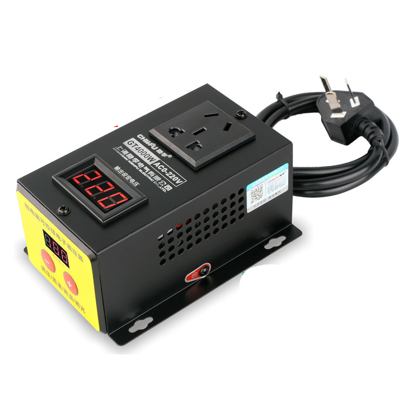 4000w Electronics Voltage RegulatorHigh power Controller  Electric Machinery Variable speed controller Thermostat4000w Electronics Voltage RegulatorHigh power Controller  Electric Machinery Variable speed controller Thermostat