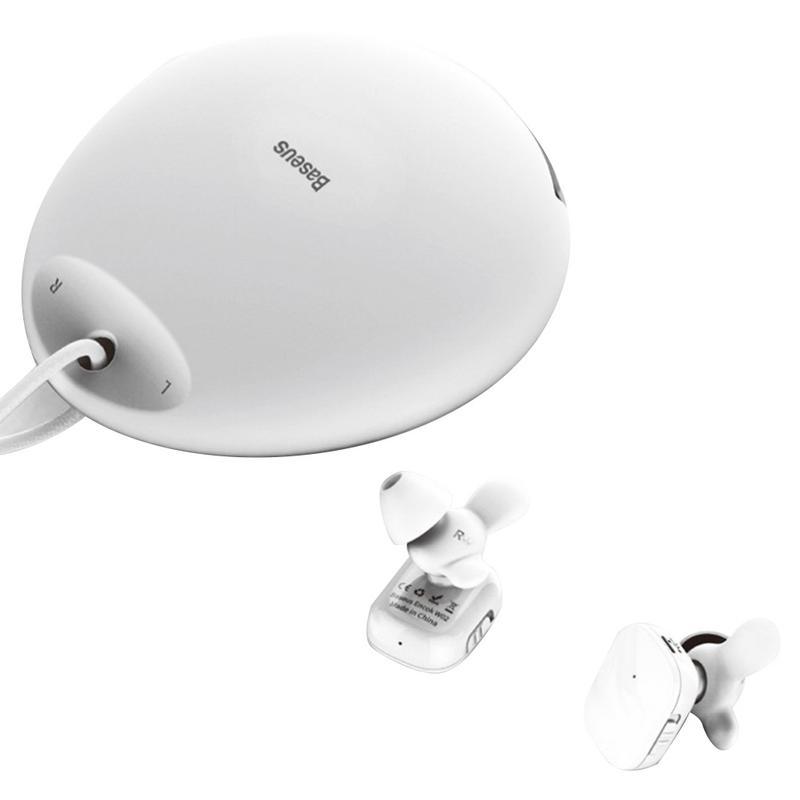 Pour Encok sans fil Bluetooth écouteur étanche casque haut de gamme mode stéréo oreillette avec Silicone sac de rangement corne oreillette