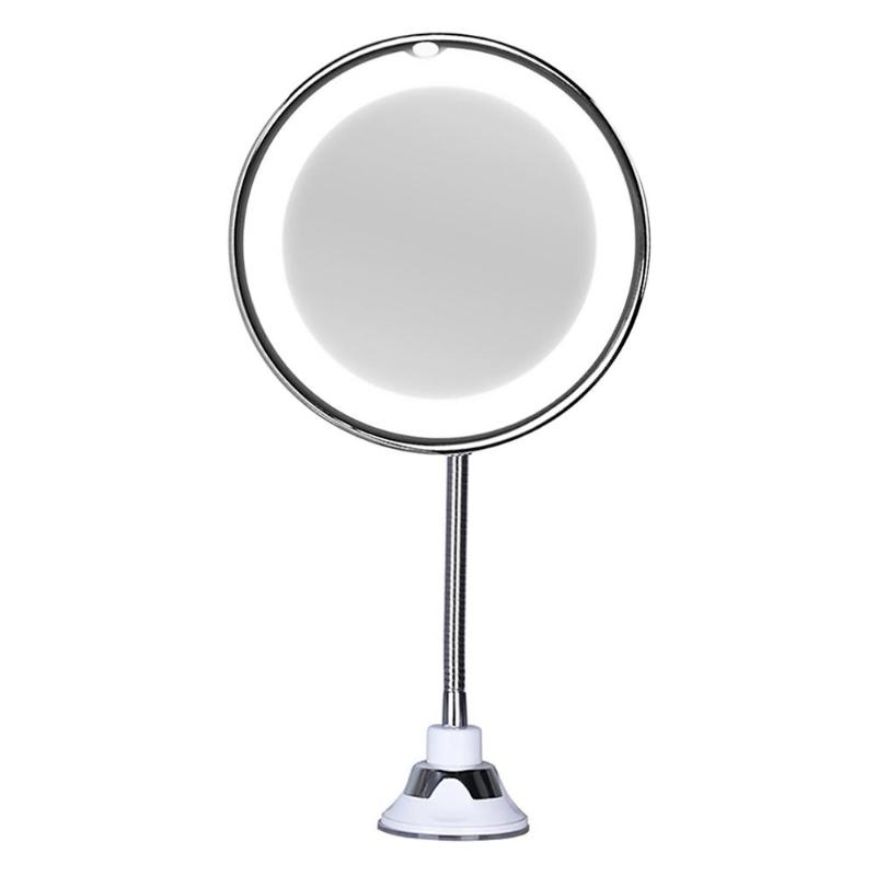 Decorative Mirrors for Walls Portable Magnifying Makeup Mirror 360 Degree Reversible Wall Mounted Cosmetic Mirror Compact Mirror